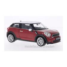 Welly 24050 Mini Cooper S Paceman rosso metallizzato Scala 1:24 Modellino auto °