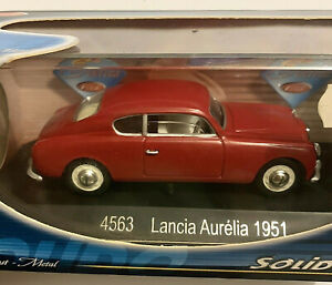 Miniature car Voiture Solido 4563 Lancia Aurelia 1951 1:43 Neuf &Boite New W Box