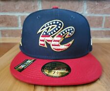 Sacramento River Cats New Era 59Fifty Fitted Cap Hat Size 7 3/8 4th of July