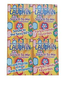 Rowan & Martins Laugh-In (DVD, 4-Disc Set, 2003) six hours & 45 minutes!!!