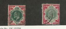 Great Britain, Postage Stamp, #138, 138a Used, 1902, JFZ
