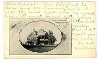 Ogdensburg NY - SUPF'S COTTAGE AT STATE HOSPITAL - Postcard