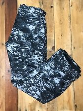 Under Armour Black Gray Camo Ski Snow Pants Youth Large X 31.5 Inseam Excellent
