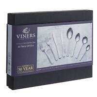Viners Charleston 44 Piece 18/10 Stainless Steel Cutlery Set - Gift Boxed
