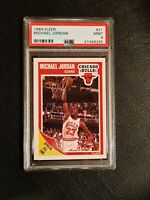 1989 Fleer Michael Jordan Chicago Bulls #21 Basketball Card Graded PSA 9 MINT++!