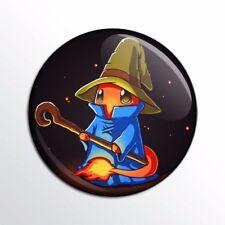"Pokemon / Final Fantasy Black Mage 1"" Pinback Button / Pin / Badge / Buttons"