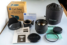 FRINGER Autofocus Adapter for Sony +  Contax N Carl Zeiss Vario-Sonnar 24-85mm