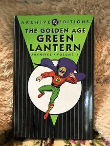 DC Archives Golden Age Green Lantern Volume 1, Hardcover
