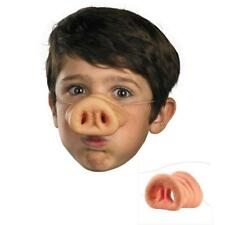 RUBBER PIG ANIMAL NOSE ADULT FANCY DRESS WOMENS MENS CHILDRENS FARM Halloween LH