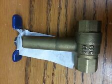 """Lot of 6 1/2"""" IPS Long Shank ball valve A736A Durst Not for potable water NEW"""