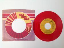 ELVIS PRESLEY: Guitar Man - DJ Promo copy - 1980 - Red Vinyl 45 Single - NM