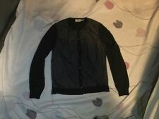 MONCLER button Cardigan Navy Blue Size S-M Sweater GORSUCH