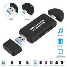 USB 3.0 Type C Speicherkartenleser Micro SD Kartenleser OTG Adapter Card Reader