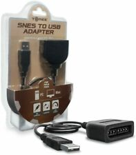 TOMEE SNES CONTROLLER TO USB ADAPTER - SNES, Nintendo, Brand New