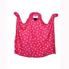 flamant rose à capuchon Couverture Polaire Manches Gants Sofa Lit emballage
