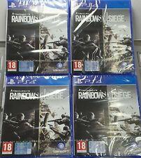 Tom Clancy's Rainbow Six Siege PS4 PAL ITA NUOVO SIGILLATO ps4