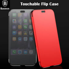 iPhone XS Max Case Baseus Touchable Screen Window View Flip Cover for Apple