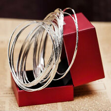10Pcs/Set Women's Fashion Etched Dimpled Circle Bangles Bracelets Jewelry Beauty