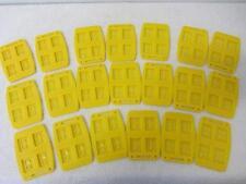 20 x gelbe Registerkarten für je 4 SD-Speicherkarten für das Card Condo System