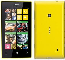 New Nokia Lumia 525 Dual-Core 5MP 3G HSDPA (FACTORY UNLOCKED) 8GB Yellow Phone