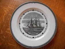 """Wedgwood Witchcraft 9"""" American Clipper Ship series creamware plate ca. 1950's"""