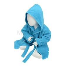 A&R Towels Babiezz 100% Cotton Hooded Bathrobe Bath Time Dressing Gown