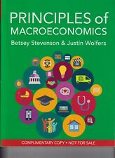 Principles of Macroeconomics Paperback 2020 Betsey Stevenson & Justin Wolfers