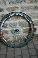 DT Swiss (tubular tyre) carbon fibre road bike wheelset
