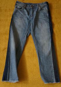 Jeans der Marke Brunello Cucinelli, Größe 38, 100% Cotton, Blau, Made in Italy