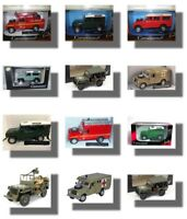 Land Rover   Military Metal Model.  Cararama  1/43 Scale Car