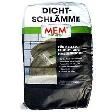 MEM Dichtschlämme 25 Kg / Abdichtung / Wände / Neubauten / Sanierung / Keller