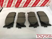 Toyota Camry 2018-2019 Front Ceramic Brake Pads Genuine OEM 04465-33480