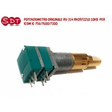 POTENZIOMETRO ORIGINALE RV-314 RK0972210 10KB  PER ICOM IC-756/7600/7300