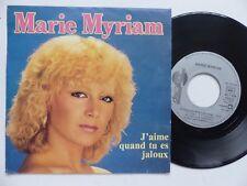 MARIE MYRIAM J aime quand tu es jaloux  AZ 1834 Discotheque RTL