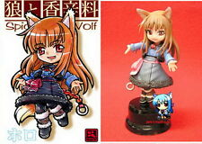 Anime Spice and Wolf SD HOLO with Base Resin Model Kit 4inch.