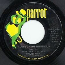 FRIJID PINK - HOUSE OF THE RISING SUN - CLASSIC CLEAN PARROT 45!