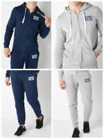 Harry Wilde Men's Zip-Through Hoodie & Joggers cuff bottoms S M L XL