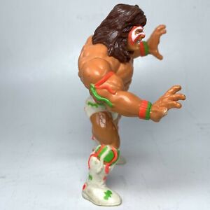 "Hasbro WWE The Ultimate Warrior Wrestling 5"" Action Figure *Broken Finger*  WWF"
