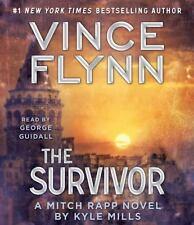 The Survivor (CD) A Mitch Rapp Novel By Kyle Mills Best Seller Very Nice Lb23