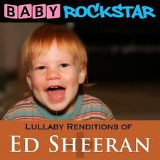 Lullaby Renditions Of Ed Sheeran: + / Plus - Baby Rockstar (2015, CD NEUF)
