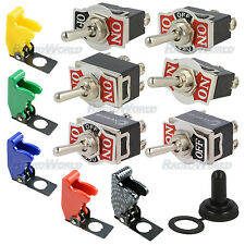 SPST SP3T DPDT DP3T SPDT Toggle Starter Switch ON/OFF Car Dash + Water / Missile