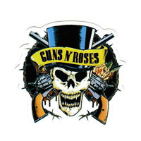 guns n roses greatest hits drumhead snare shell symbol crash decal sticker #1957