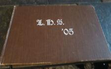 LAKEWOOD HIGH SCHOOL 1905 YEARBOOK LAKEWOOD OHIO