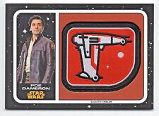 Star Wars Journey to The Last Jedi - Patch Card MP-DM - POE DAMERON - NM
