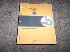 John Deere Jd 762A 762-A Scraper Shop Service Repair Technical Manual Tm1225