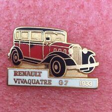 Pins Voiture RENAULT VIVAQUATRE G7 1933