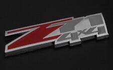 Z71 4X4 Chevrolet GMC Red Chrome 3D Emblem Door Vehicle Trucks Suburban Tahoe