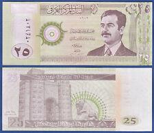 IRAK / IRAQ  25 Dinars 2001 UNC  P.86
