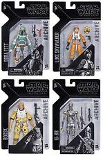 """Star Wars Black Series 6"""" ARCHIVE Pack Of 4 BABA FETT,IG-88 BOSSK,LUKE SKYWALKER"""