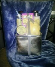 Lavendar Shower and Bath Set For Mothers Day. Birthday. Housewarming. Gift.